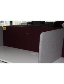 Kancelářský paravan na stůl červený
