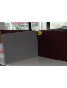 Kancelářský paravan na stůl šedý