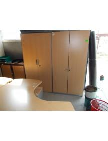 Plechová regálová skřín Steelcase