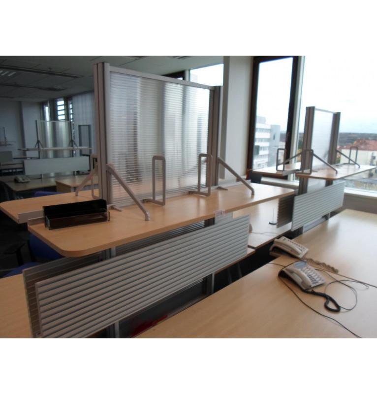 Kancelářský paravan Steelcase - přídavný ke stolu