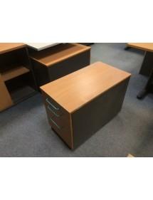 Kancelářský kontejner pod stůl- dekor buk
