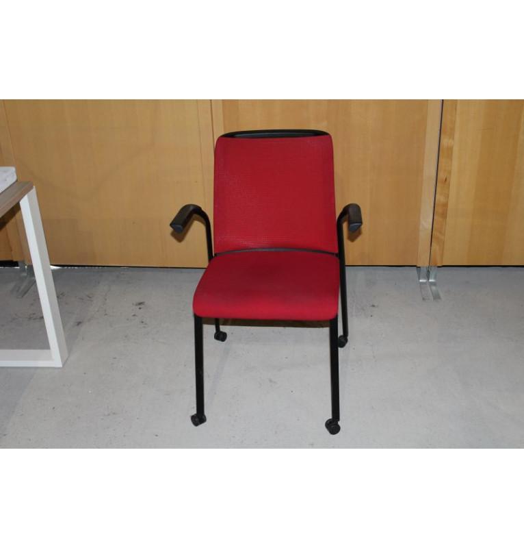 Kancelářské zasedací židle Steelcase na kolečkách