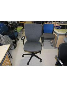 Kancelářská kolečková židle RIM šedá