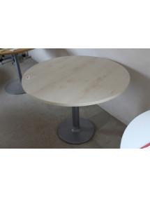 Okrúhly prísediaci stolík s pevnou nohou