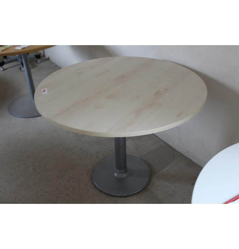 Kulatý přísedící stolek s pevnou nohou