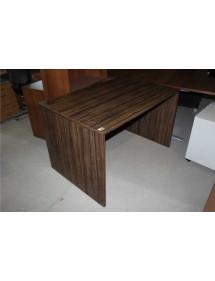 Kancelářské stoly v dekoru tmavý ořech