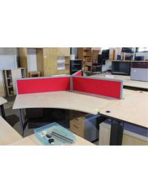 Zostava kancelárskych stolov TECHO