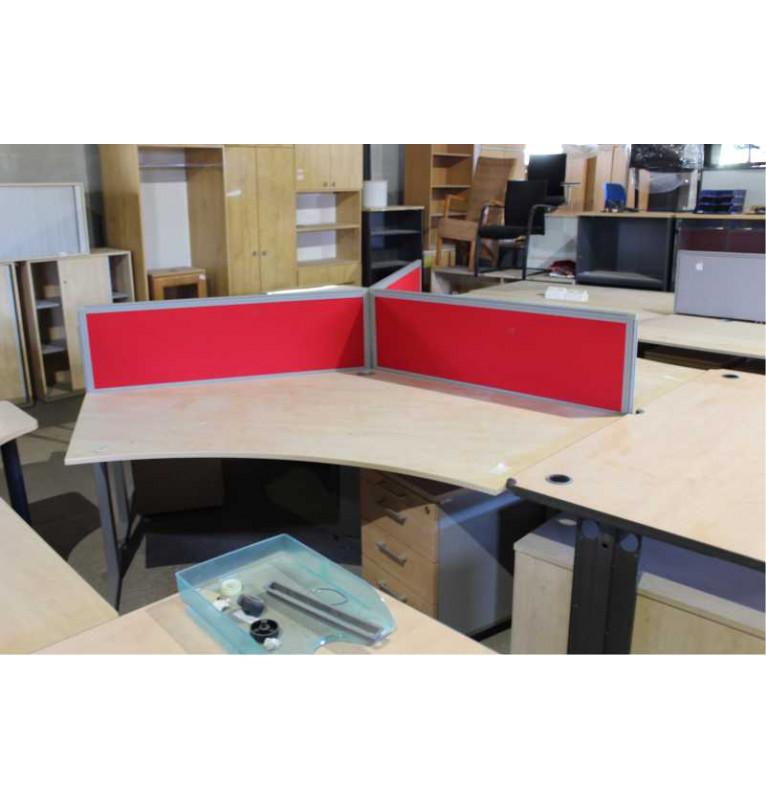 Sestava kancelářských stolů TECHO
