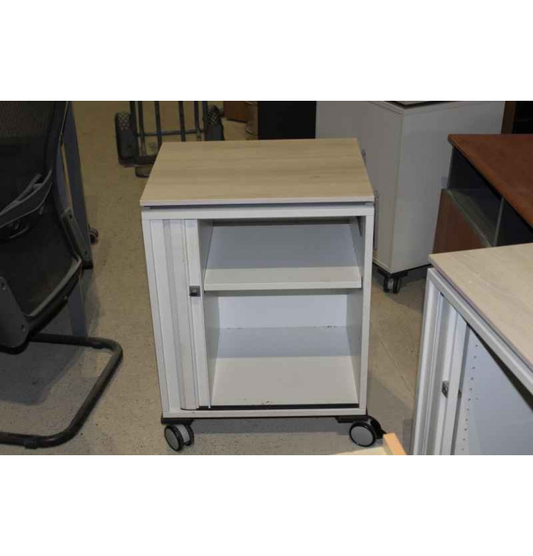 Pojazdný kontajner Steelcase - roletka