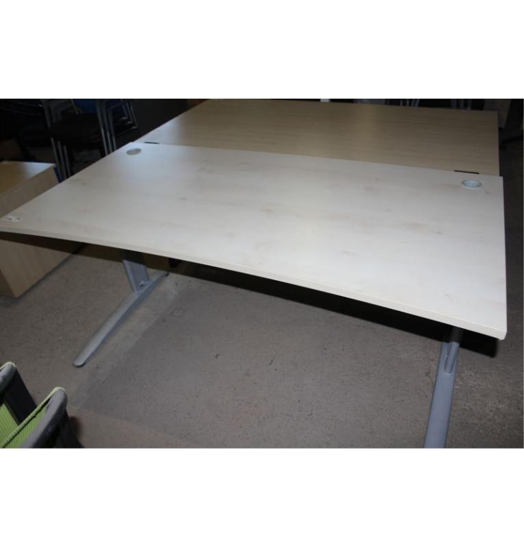 Kancelářský stůl s kovovou konstrukcí