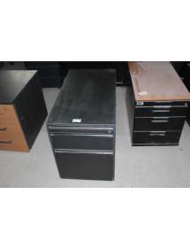 Kancelářský kontejner černý pod stůl