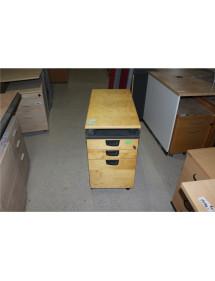 Kancelářský kontejner Kinnarps - kolečka