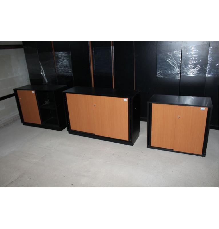 Kancelářské regálové skříňky TECHO