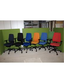 Kolečková židle Interstuhl různé barvy