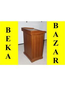 Řečnický pult bazar - tmavý buk