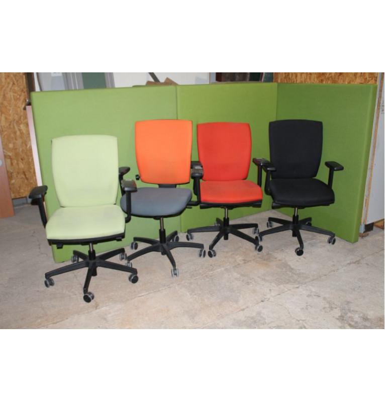 Kolečkové židle RIM různé barvy