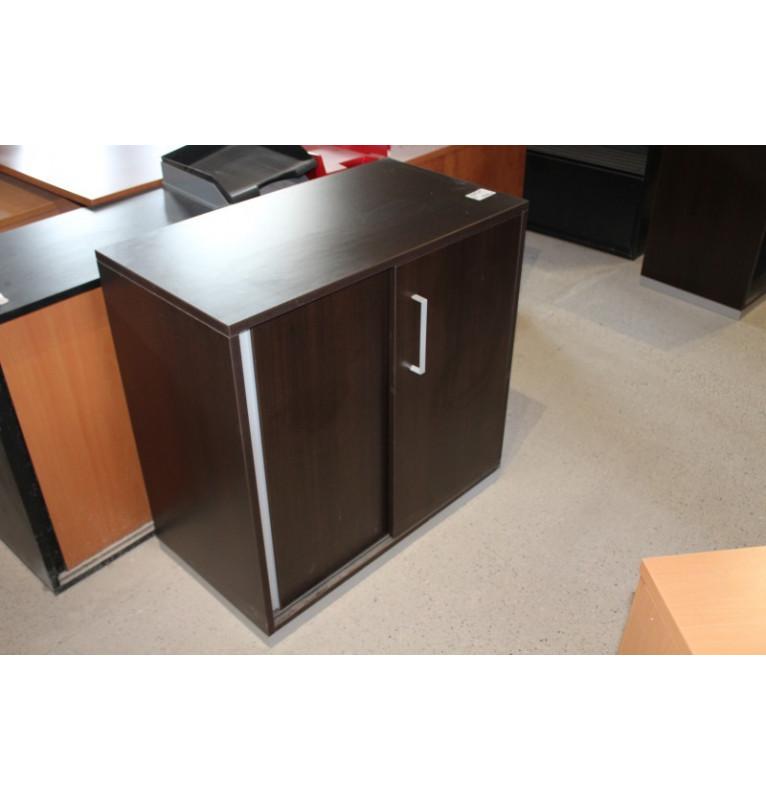 Kancelářská skříňka Steelcase v dekoru černé dřevo