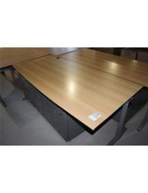 Kancelářské stoly zkosené TECHO bazar