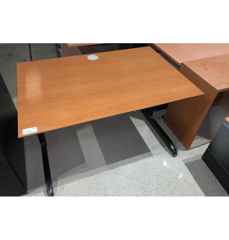 Kancelářský PC stůl TECHO hnědá hruška