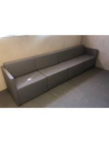 Dizajnová šedá sedacia súprava 4 dielna