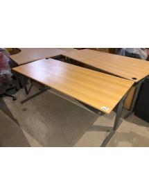Kancelársky PC stôl Techo svetlý dekor