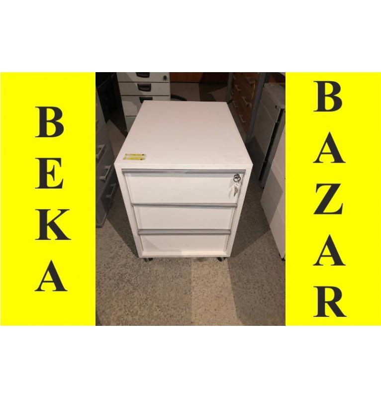 Kancelářský kontejner bílý pod stůl