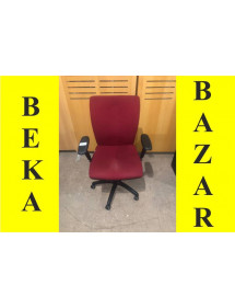 Kancelářská kolečková židle Antares červená
