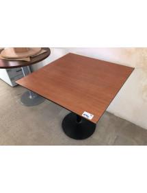 Kancelářský přísedící stůl - tmavá hruška