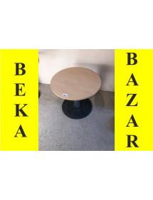 Okrúhly prísediaci stolík nastaviteľná výška