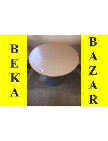 Kancelársky prísediaci okrúhly stôl svetlý