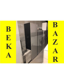 Šatní skříň světlá šedá - bazar