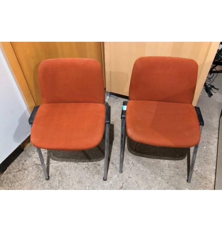Kancelářská přísedící stohovatelná židle