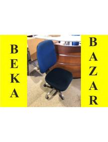 Kancelářská židle kolečková modrá