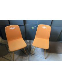 Kancelářská přísedící židle dřevěná LD