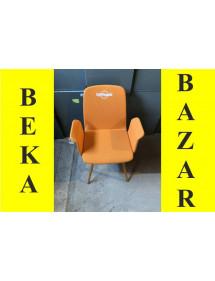 Kancelářská dřevěná přísedící židle LD