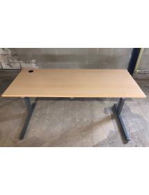 Kancelářský PC stůl TECHO - světlý buk