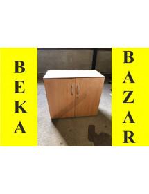 Regálová skříň nízká dekor buk