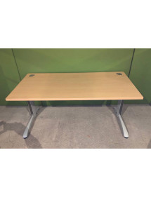 Kancelářský PC stůl Steelcase žlutý odstín