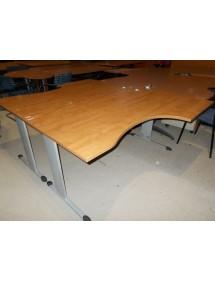 Pracovní kancelářské stoly dekor kalvádos