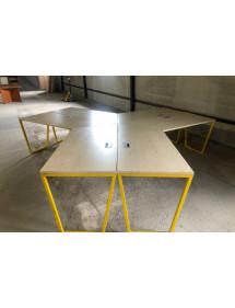 Kancelársky PC stôl pre 6 ľudí