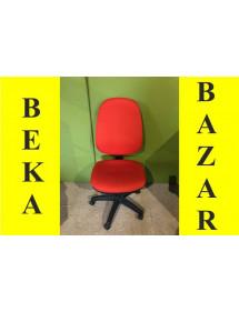 Kancelárska koliesková stolička bez lakťových opierok