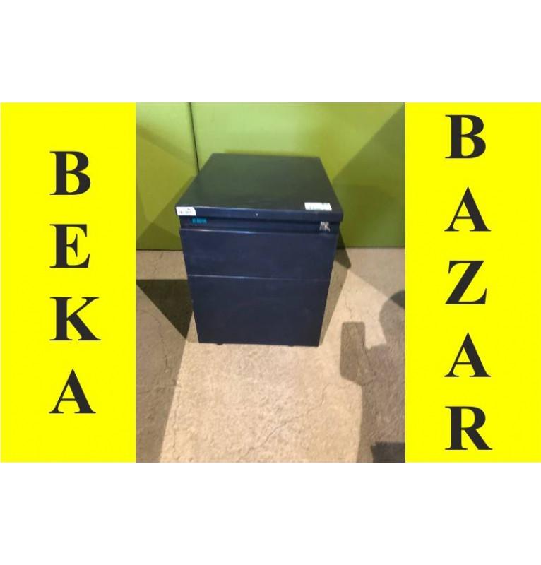 Kancelářský kontejner celoplechový šedo-modrý