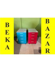 Kancelárske kontajnery farebné drevené (lamino)