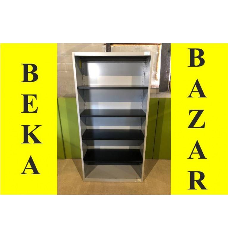 Kancelářská regálová skříň plechová Steelcase