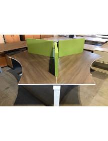 Kancelárska 3 dielna súprava stolov značky TECHO
