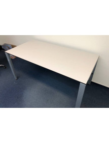 Kancelársky PC stôl Gispen - biela farba