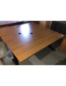 Kancelársky PC stôl v dekore buk